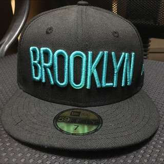 Brooklyn new era籃球帽
