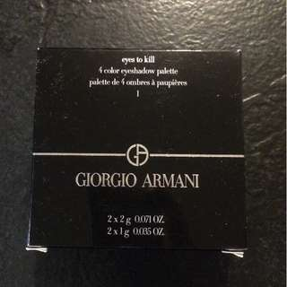 Giorgio Armani Eyes To Kill #1 eyeshadow palette