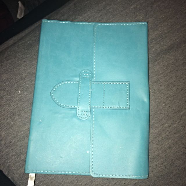 200+ TEAL NOTEBOOK EMPTY