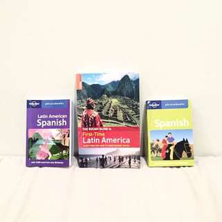 *Lonely Planet* Latin America Spanish Travel Language Guide And Phrase Books
