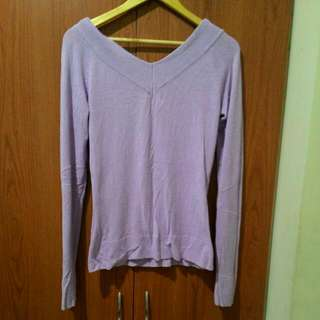 Lavender Long Sleeve Top