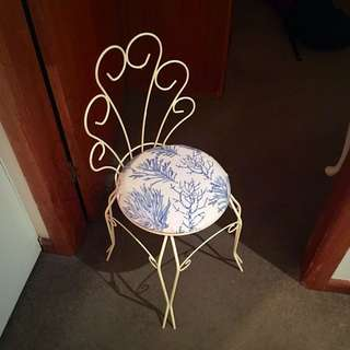Wire chair  - make me an offer!