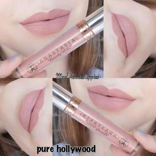 ANASTASIA Liquid Lipstick In Pure Hollywood