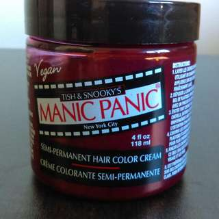 Unopened Red Manic Panic