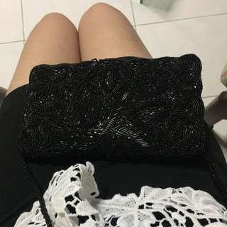 Classy Black Sling Bag