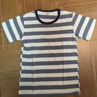 Stripe Blue And White Shirt