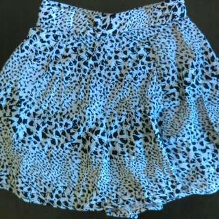 Mini Skirt With Bows
