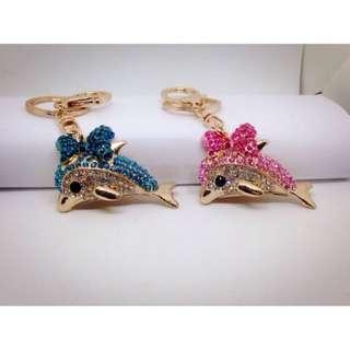 ❤️飾品小物❤️手工鑽飾海豚
