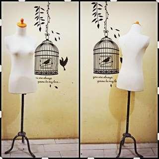 Manekin/patung Wanita Setengah Badan