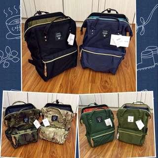 「免運費,現貨不用等」硬挺版Anello旅行專用後背包日本熱賣款,追加新色共20款