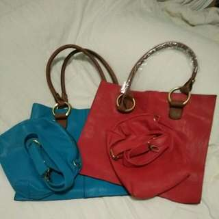 (Reduce $)Bag ( Turquoise Or Red) = Price Reduce From $35