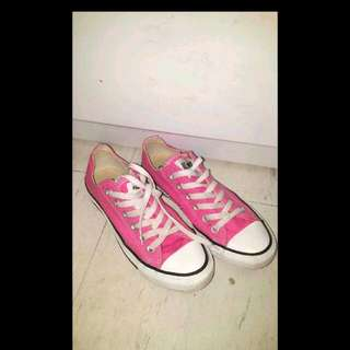 Pink Unisex Converse