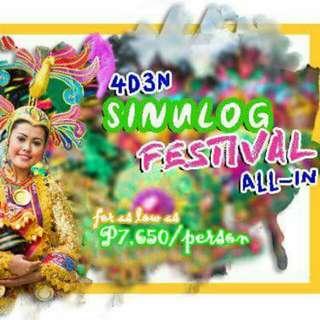 4D3N Sinulog Festival Package ALL-IN