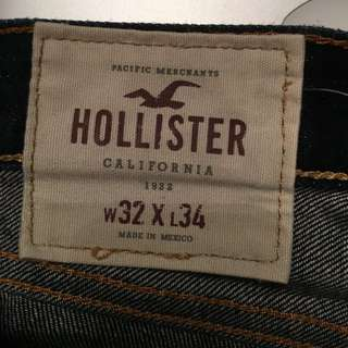 Hollister Jeans - Slim Straight 32x34