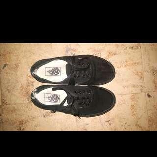 All Black Unisex Vans