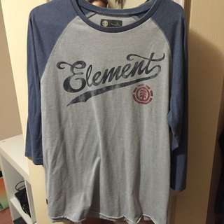 Element 3/4 Sleeve Top