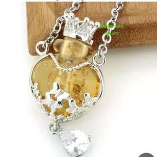 Essential Oil Bottle Necklace