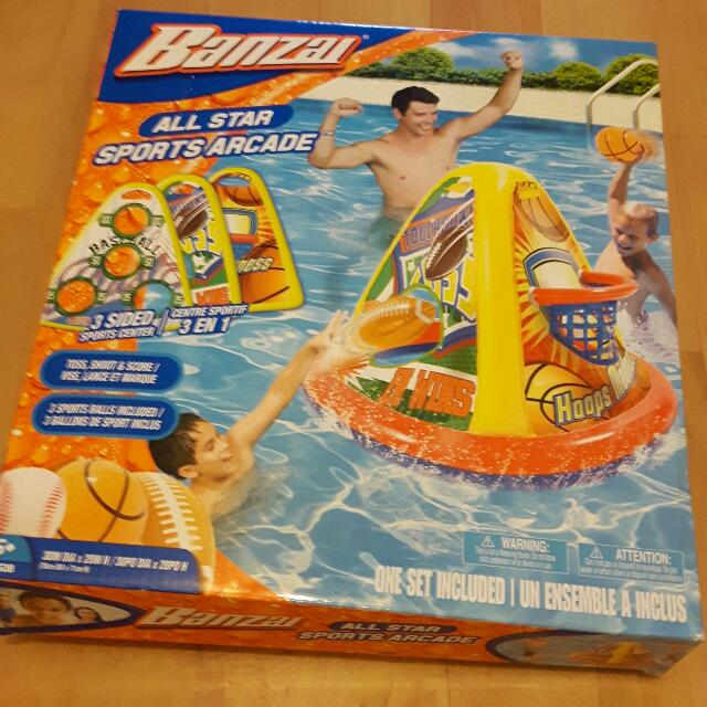 3 Sided Sports Game For The Pool