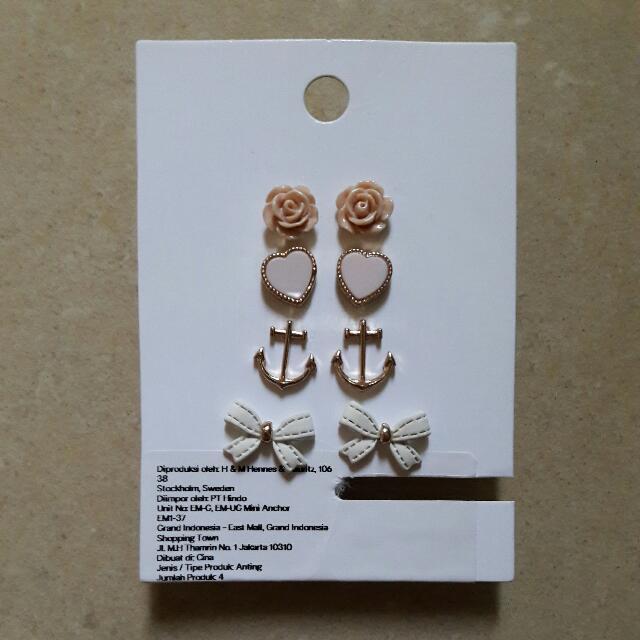 H&M - 4 Pairs Earrings
