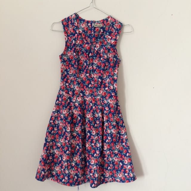 Ada Women's Flowers Dress