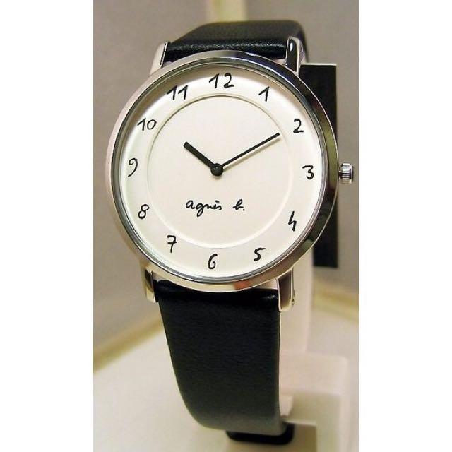 agnes.b經典不敗款錶(女錶)