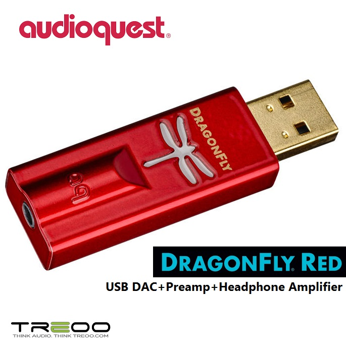 AudioQuest DragonFly Red USB DAC//Headphone Amplifier