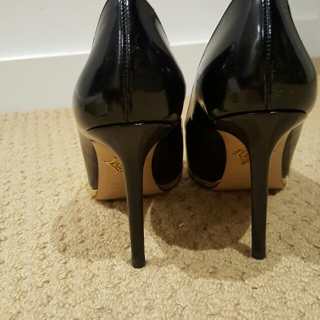 authentic charlotte Olympia Carla heels in size 37.5