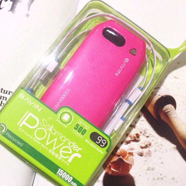 Bavin 15000 mah powerbank