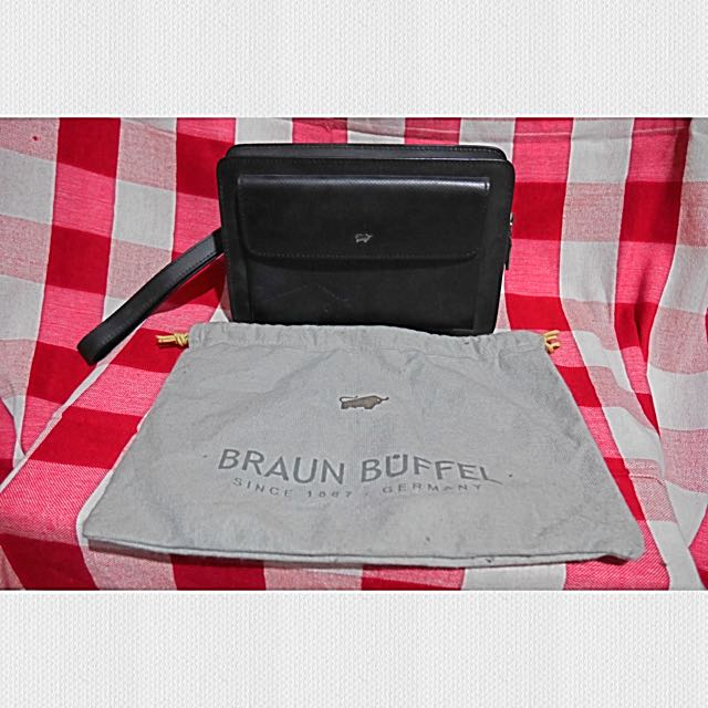 Braun Buffel Men's Clutch