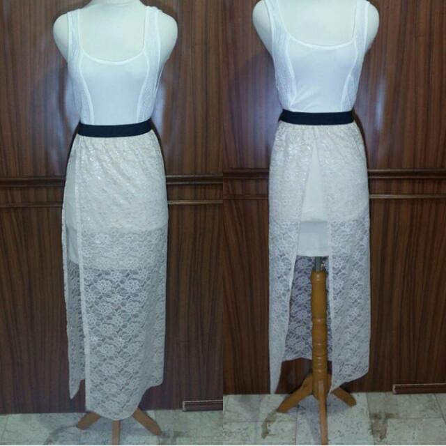 Brokat Long Skirt