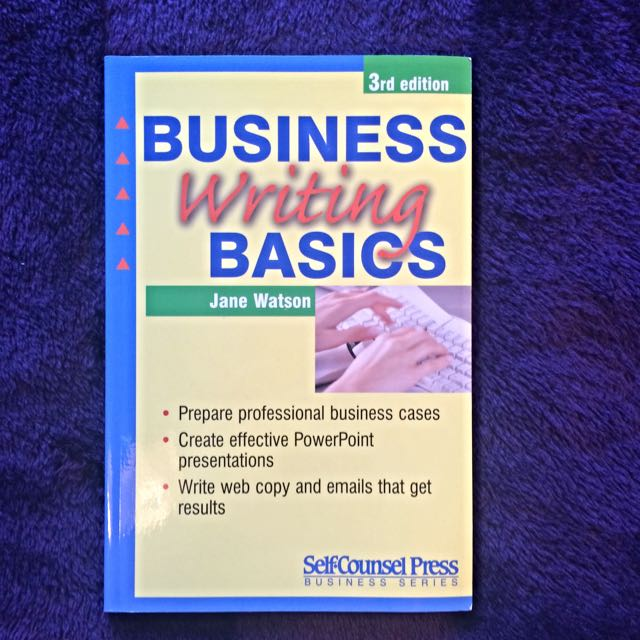 Business Writing Basics 3rd Edition