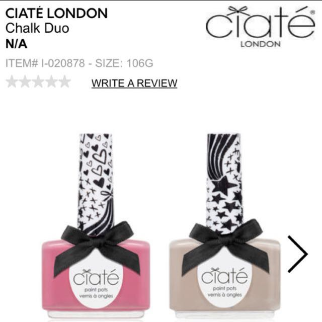 Ciaté Nail Polish Set