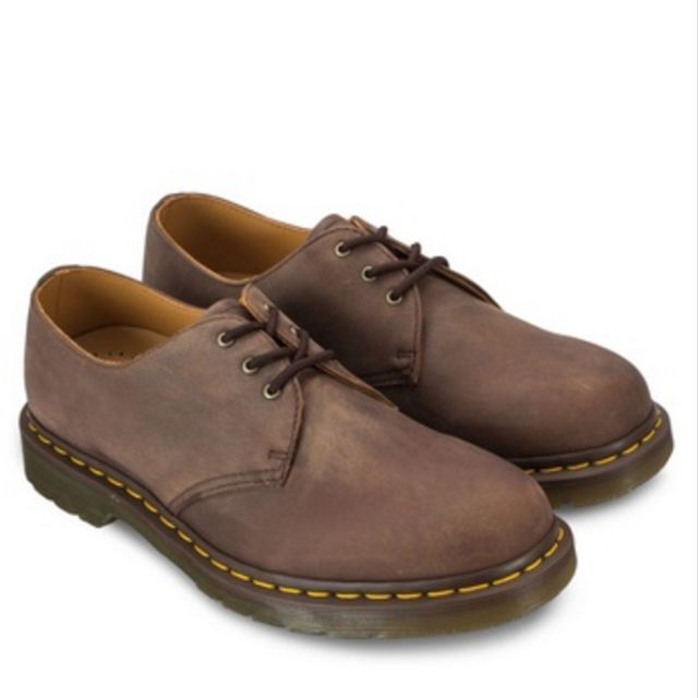 3c5840e2582 Dr. Martens Core Rugged 3-Eye Gibson Lace-Up Shoes