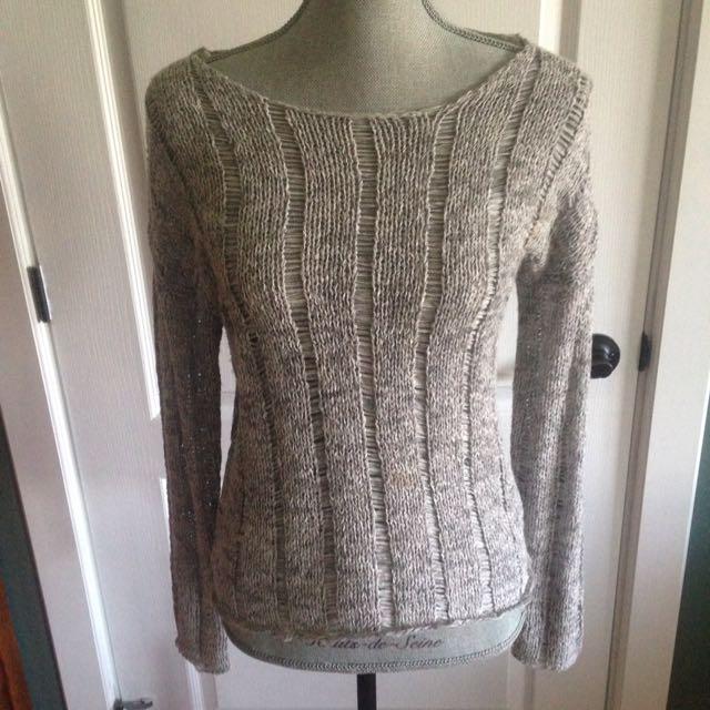 Dynamite Grey Sweater