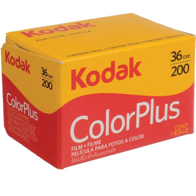 Expired Kodak 35mm Color Plus 200 Negative Film (36 Exposure)