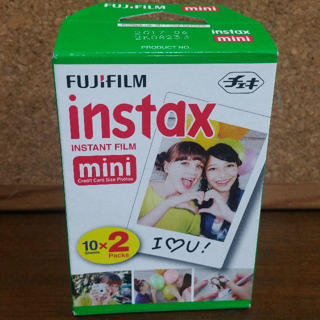 Fuji Film Instax Instant Film Mini (10 x 2)