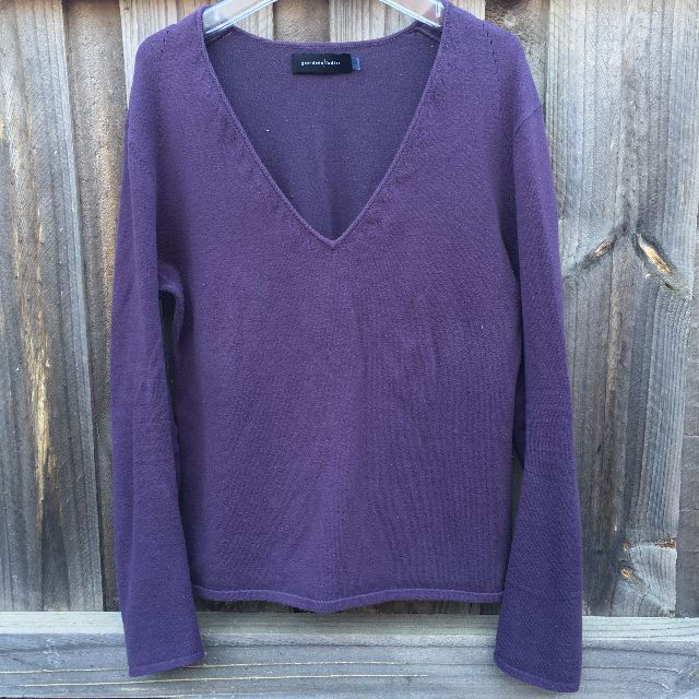 Giordano Ladies Purple Sweater