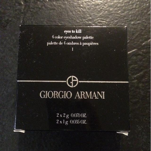Giorgio Armani Eyes To Kill #1 eyeshadow palette