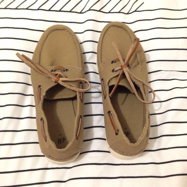 H&M Boat Shoes