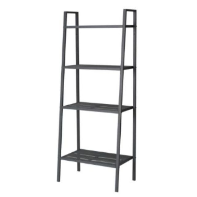 Ikea Lerberg Shelving units (Shelves of various depths mean you have space for everything from trinkets to books.)