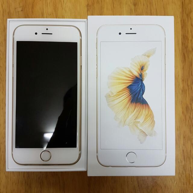 IPhone 6s 金色
