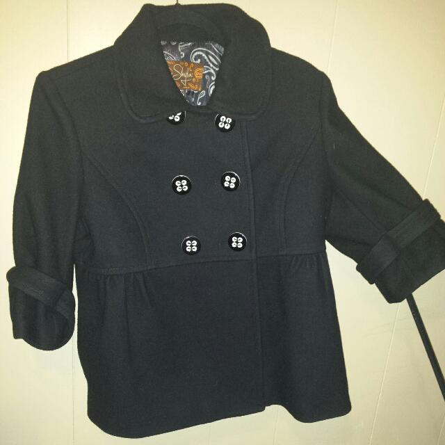 Jacket Black M Can Fit Small