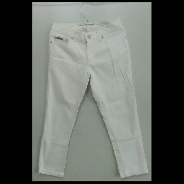 Jeans Putih Lee Coper