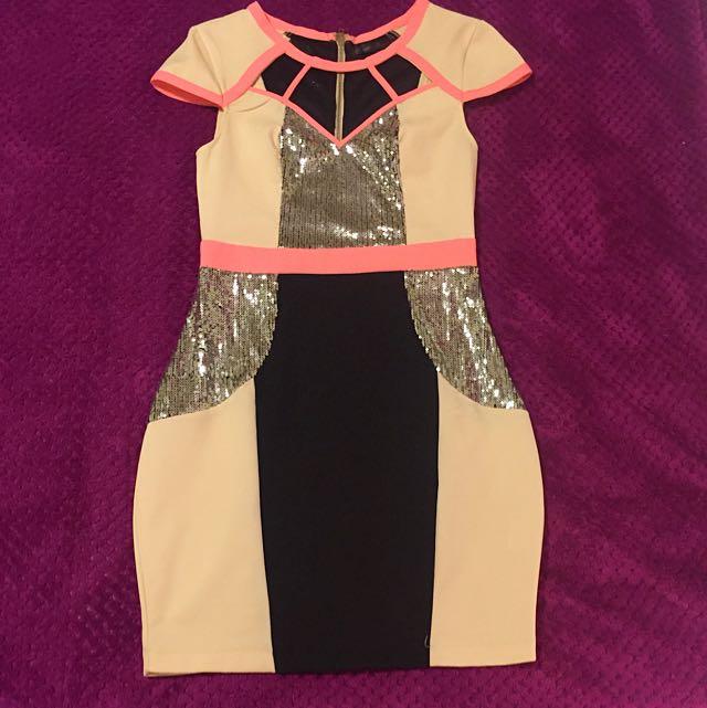 'Knight Angel' Party Dress Size 8