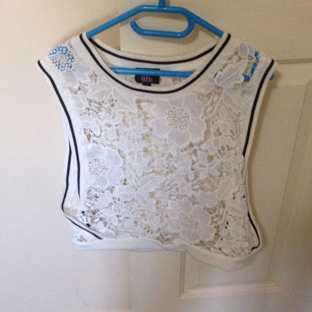 Lace Pattern top