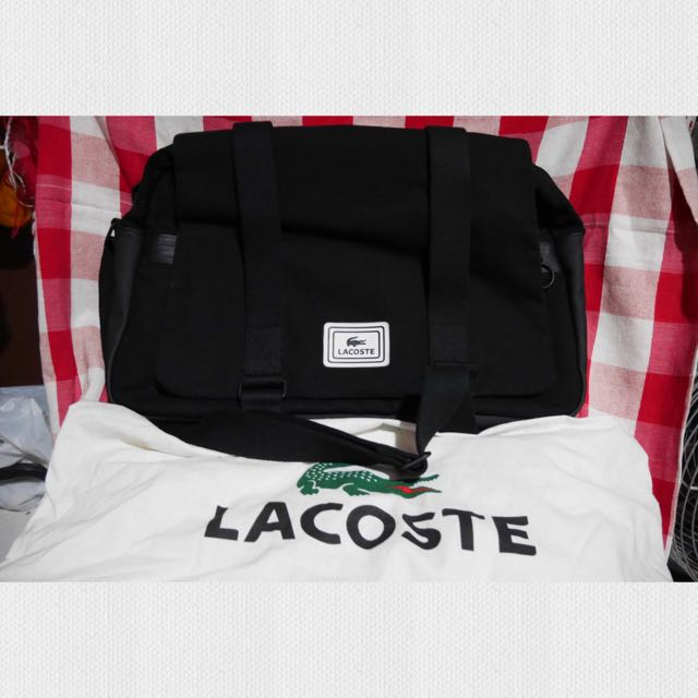 Lacoste Large Messenger Bag