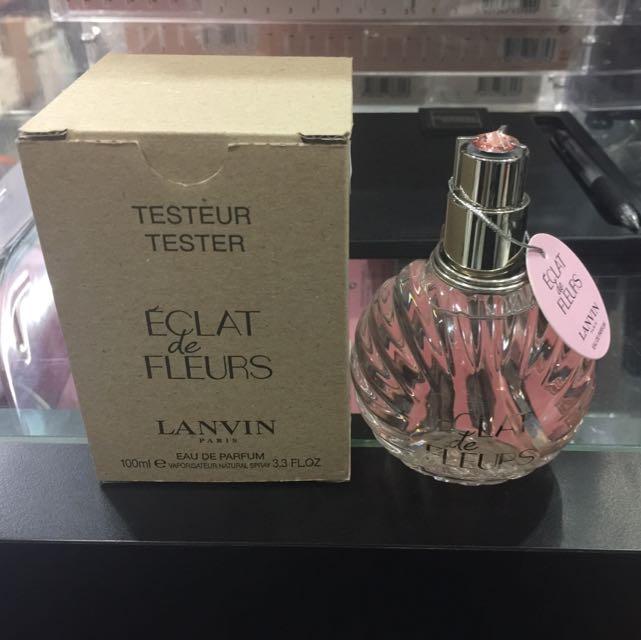 Lanvin Eclat De Fleurs Edp 100ml Tester Health Beauty Hand