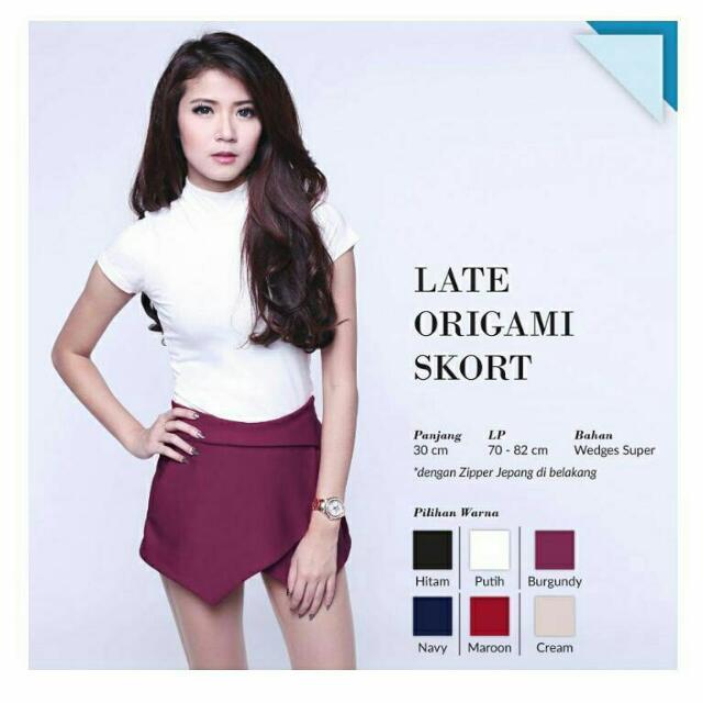 Late Origami Skort