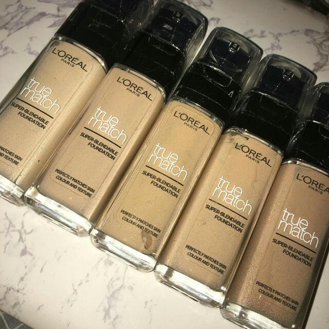 L'ORÉAL TRUE MATCH SUPER-BLENDABLE FOUNDATION