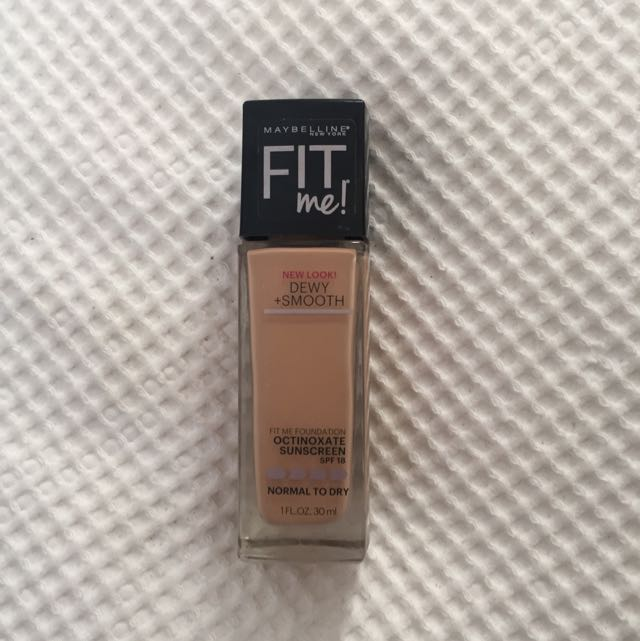 Maybeline Fit Me foundation